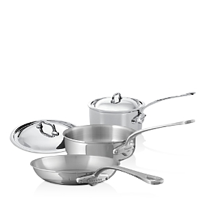 Mauviel M'Cook Stainless Steel 5-Piece Cookware Set