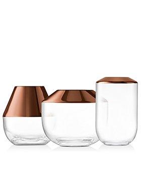 LSA - Copper Rose Space Vases - 100% Exclusive
