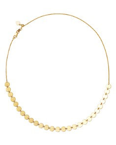 "Moon & Meadow - Disc Choker Necklace in 14K Yellow Gold, 16"" - 100% Exclusive"