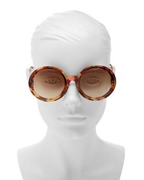 Bottega Veneta - Women's Round Sunglasses, 64mm