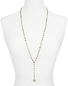 Ela Rae - Yaeli Lariat Necklace, 32""