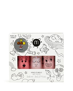 nailmatic KIDS - Cosmos Nail Polish Pack of 3, Ages 3+ - 100% Exclusive