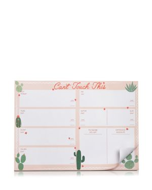 SKINNYDIP LONDON Can'T Touch This Notepad in Peach Multi