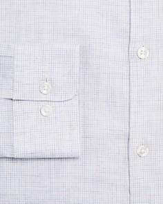 John Varvatos Star USA - Heathered Slim Fit Dress Shirt