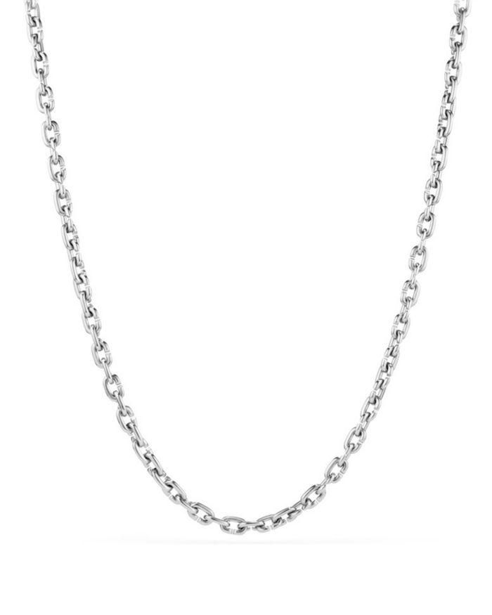 David Yurman Chain Link Narrow Necklace     Bloomingdale's