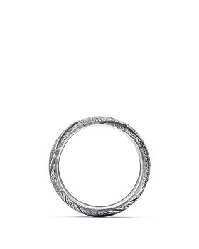 David Yurman - Southwest Wide Feather Band Ring