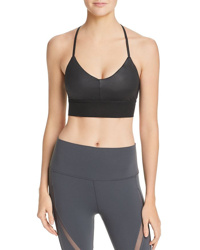 Alo Yoga - Lavish Longline Scoop-Neck Bralette