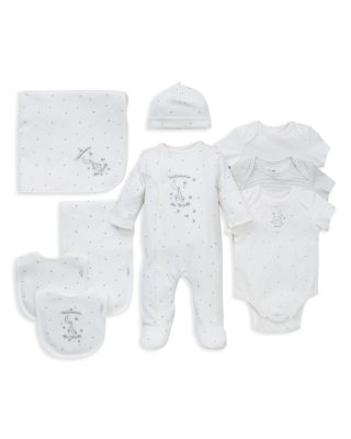 Infant Unisex Welcome to the World Bib & Burp Cloth Set