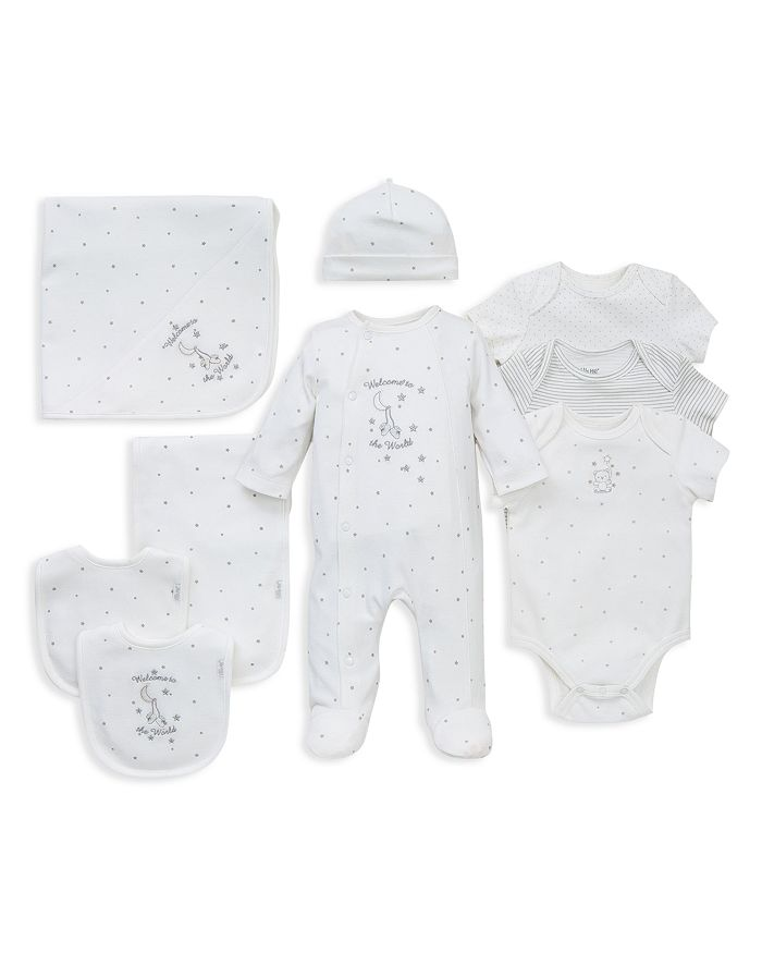 Little Me - Unisex Welcome to the World Footie, Blanket, Bodysuits & More - Baby