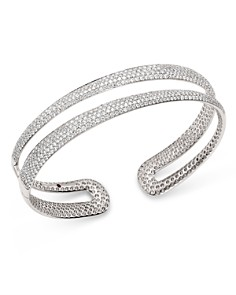 Roberto Coin - 18K White Gold Scalare Pavé Diamond Kick Cuff