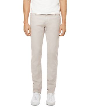 J Brand Kane Straight Fit Jeans in Calcite