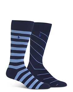 Polo Ralph Lauren Rugby Stripe Socks - Bloomingdale's_0