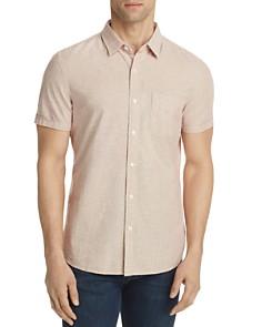 AG Pearson Short Sleeve Button-Down Shirt - Bloomingdale's_0
