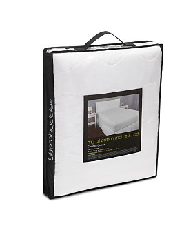 Bloomingdale's - My All Cotton Mattress Pad - 100% Exclusive