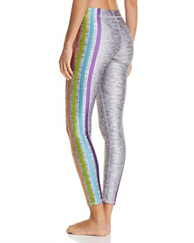 Terez - Some Stripe Way Rainbow Leggings