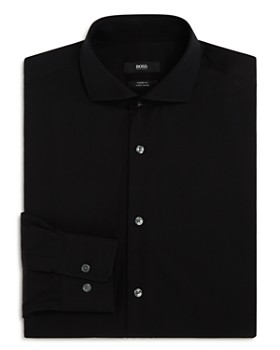 BOSS - Solid Basic Regular Fit Dress Shirt