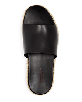 The Men's Store at Bloomingdale's - Leather Slide Sandals - 100% Exclusive