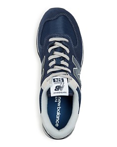New Balance - Men's Classic 574 Evergreen Suede Lace Up Sneakers