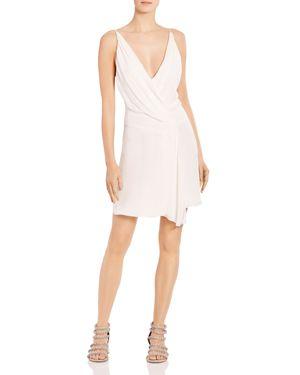 Haute Hippie Cassidy Crossover Silk Mini Dress 2948926