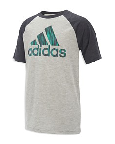 Adidas Boys' Raglan Logo Tee - Big Kid - Bloomingdale's_0