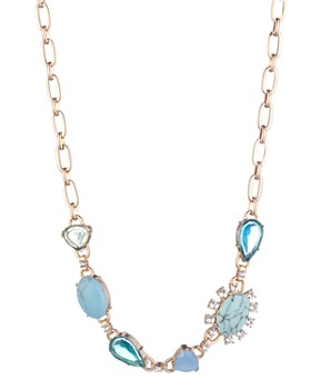 """Carolee - Stone Front Necklace, 16"""""""