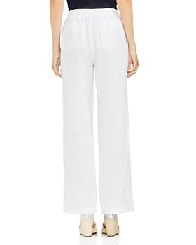 VINCE CAMUTO - Linen Drawstring Wide-Leg Pants