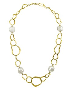 "Majorica Hammered Necklace, 37"" - Bloomingdale's_0"