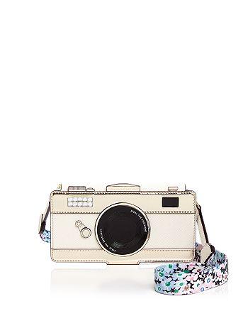 kate spade new york - Camera Folio iPhone X Case with Daisy Strap