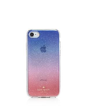 Kate Spade New York Ombre Sunset Glitter Iphone 7 8 Case In Pink Multi f2c3cf18ba