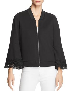 LE GALI PATRICIA BELL SLEEVE BOMBER JACKET - 100% EXCLUSIVE