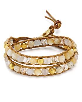 Chan Luu - Beaded Cord Bracelet