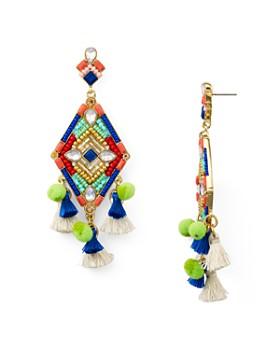 Rebecca Minkoff Geometric Star Earrings
