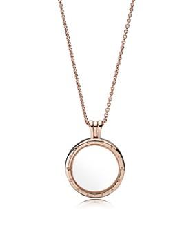 b752d59b1 Pandora - Floating Locket Pendant Necklace, 23.6