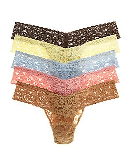 Hanky Panky - Signature Low-Rise Thongs, Set of 5