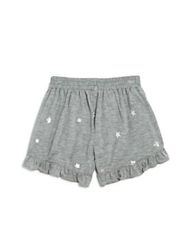 Flowers by Zoe - Girls' Foil Star Shorts - Little Kid