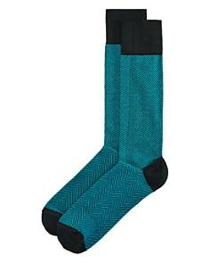 Happy Socks Dress Herringbone Socks - Bloomingdale's_0