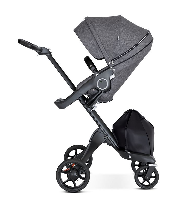 Stokke - Xplory® 6 Black Chassis Stroller