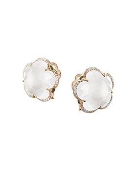 Pasquale Bruni - 18K Rose Gold Bon Ton Gemstone & Diamond Floral Earrings