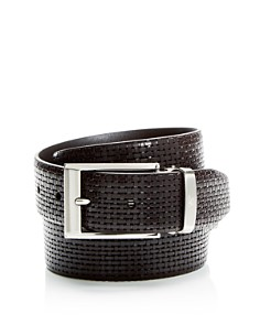 Canali Reversible Embossed Leather Belt - Bloomingdale's_0