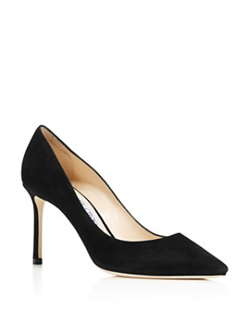 da74dffdf22 Jimmy Choo - Women s Romy 85 Pointed-Toe Pumps ...