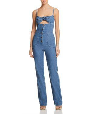 Joe's Jeans Lucia Denim Jumpsuit in Medium Indigo 2907550
