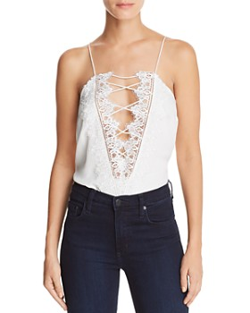 09f92fec0d904 CAMI NYC - Charlie Reversible Lace-Up Silk Top ...
