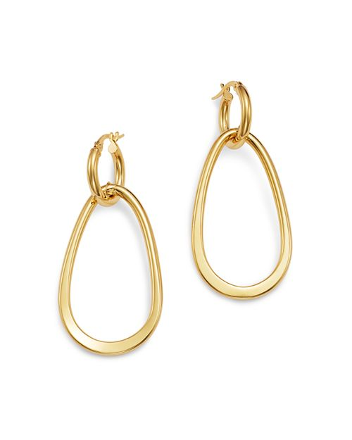 Bloomingdale's - Oval Link Drop Earrings in 14K Yellow Gold - 100% Exclusive