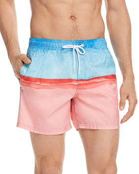SUNDEK - Two-Tone Swim Trunks