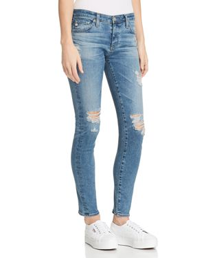ANKLE LEGGING JEANS IN 13 YEARS PACIFICA DESTRUCTED
