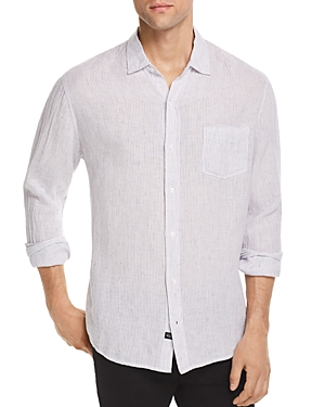 Rails Connor Striped Regular Fit Button-Down Shirt-Men