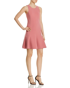 Elizabeth and James Bristol Fluted Mini Dress
