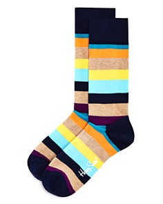 Happy Socks Stripe Socks - Bloomingdale's_0