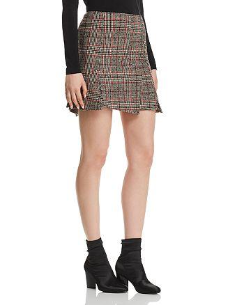 a72147e277 McQ Alexander McQueen Plaid Mini Skirt | Bloomingdale's
