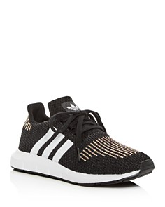 Adidas - Women's Swift Run Knit Lace Up Sneakers